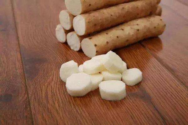 小白嘴山药含有丰富的营养物质